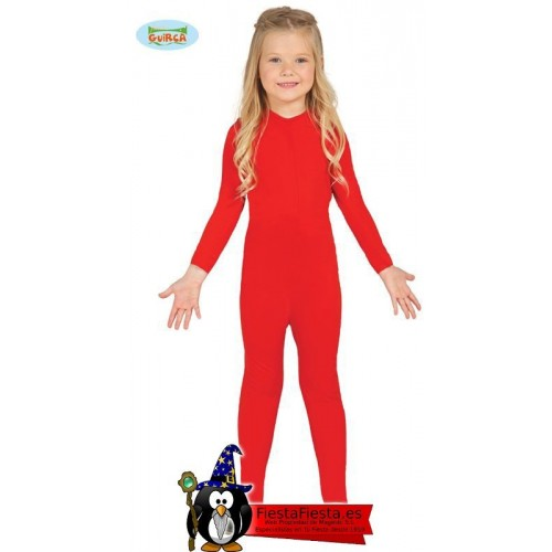 Maillot Entero Rojo Disfraz