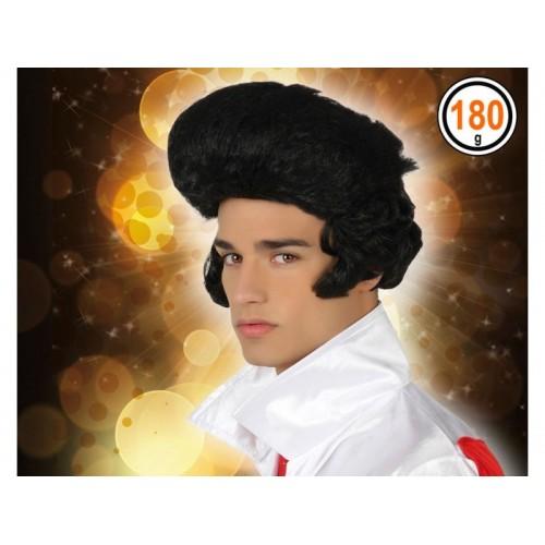 Peluca Rockero Elvis tupe