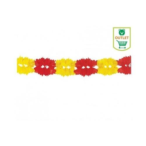 Guirnalda Roja y Amarilla España 3.5m