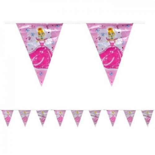 Banderines Princesa de Plastico
