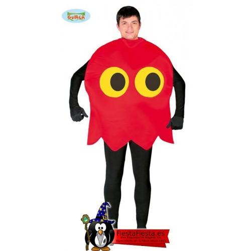 Disfraz Fantasma Pacman Come Cocos
