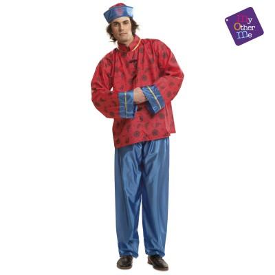 Disfraz Chino Azul Adulto