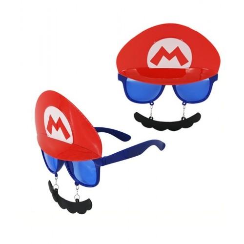 Gafas Mario con Bigote