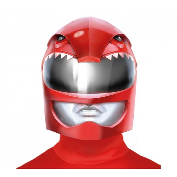Casco Galactico Power Ranger Rojo