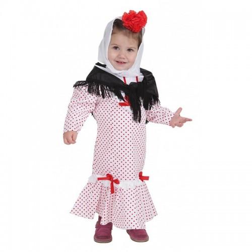 Disfraz Madrileña Chulapa bebe