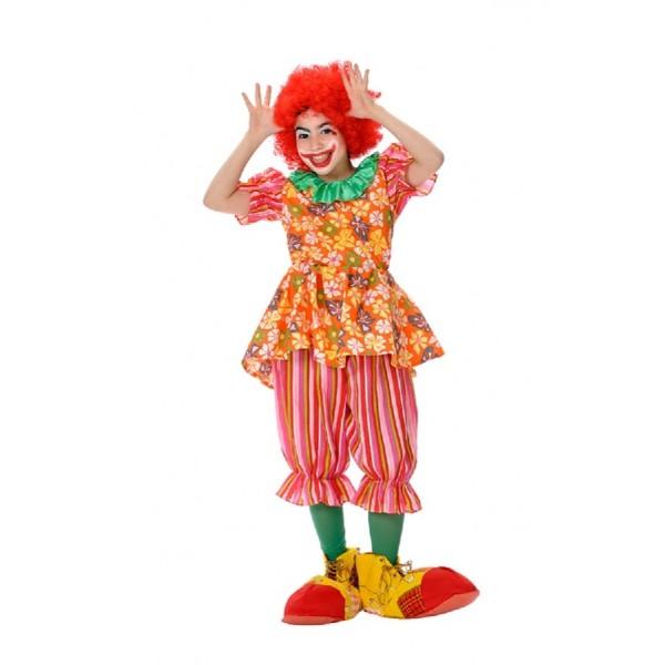 Disfraz Payasa Vestido 4 a 5