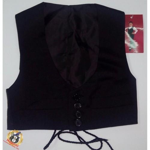 Chaleco Negro Cordobes Talla2
