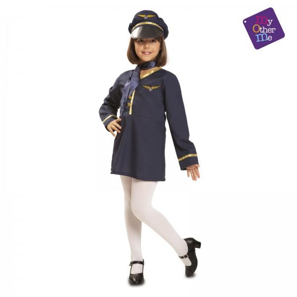 Disfraz Azafata de niña