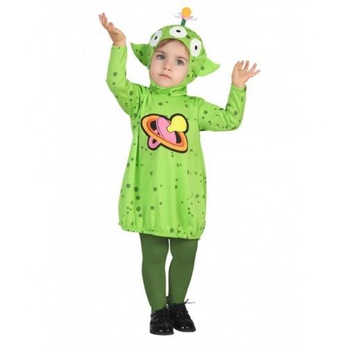 Disfraz Alien Niña 1 a 2