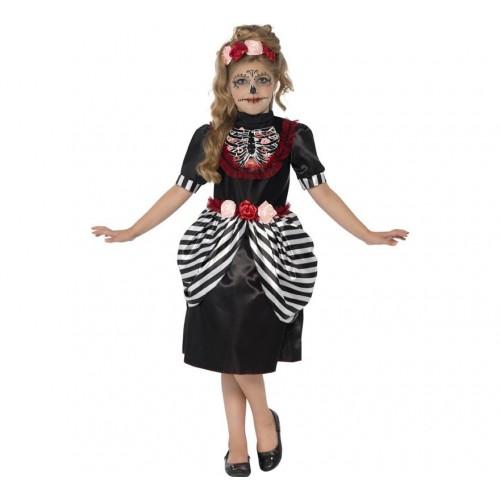 Disfraz Catrina Niña Esqueleto
