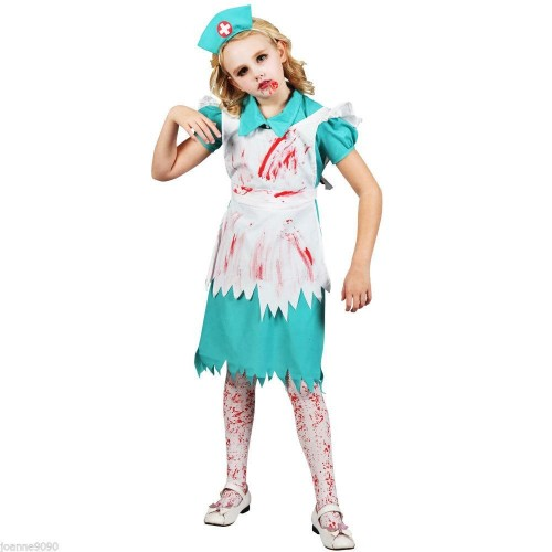 Disfraz Enfermera Zombie 2 a 3