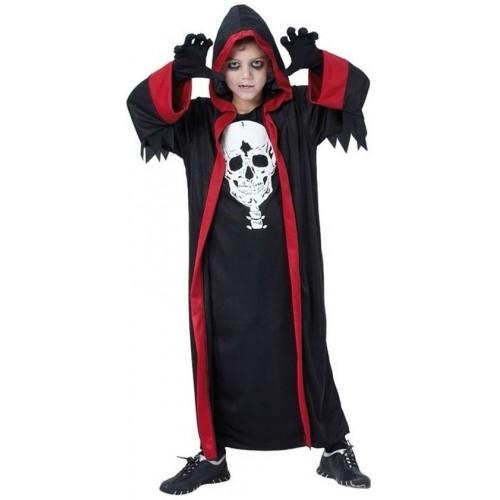 Disfraz Tunica Calavera infantil