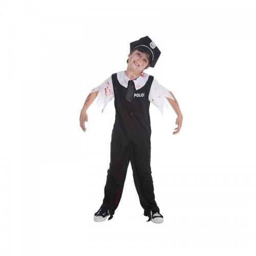 Disfraz Policia Zombie niño