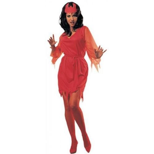 Disfraz Diablesa Roja Basico ML