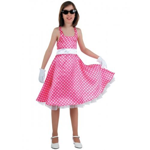 Disfraz Chica grease niña