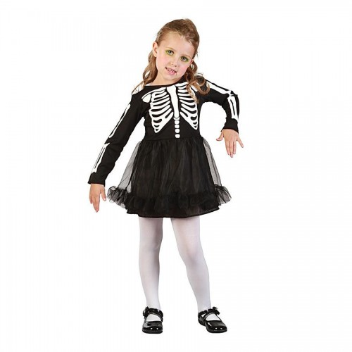 Disfraz Esqueleto Niña 4 a 6