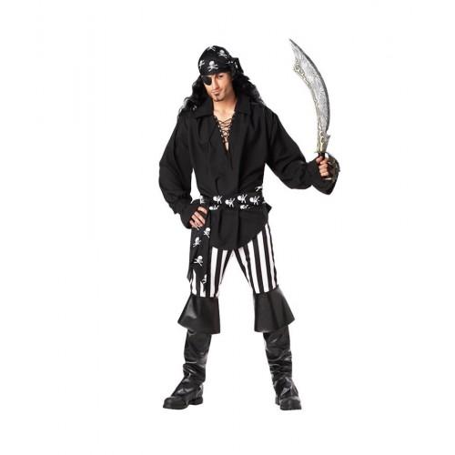Disfraz Pirata Negro ML