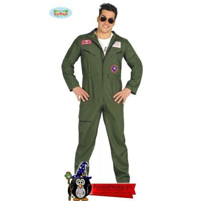 Disfraz Piloto de cazas adulto