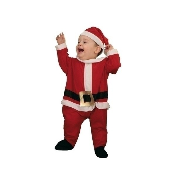 Disfraz Papa Noel bebe Mono 0 a 1