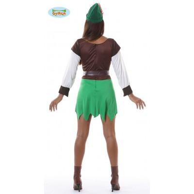 Disfraz Arquera Robin Hood Chica