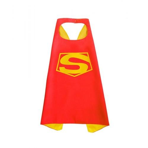 Capa Super Heroe Superman Hombre de acero