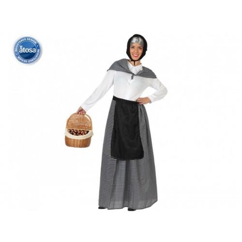 Disfraz Abuela Castañera Adulta