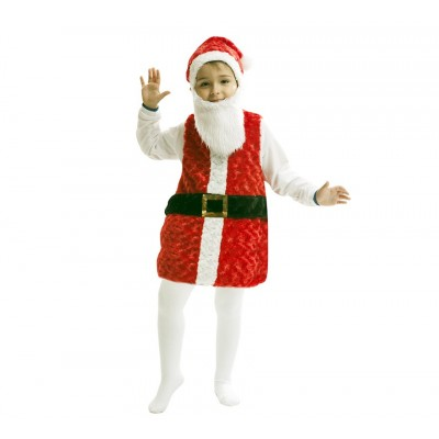 Disfraz papa Noel infantil Peluche