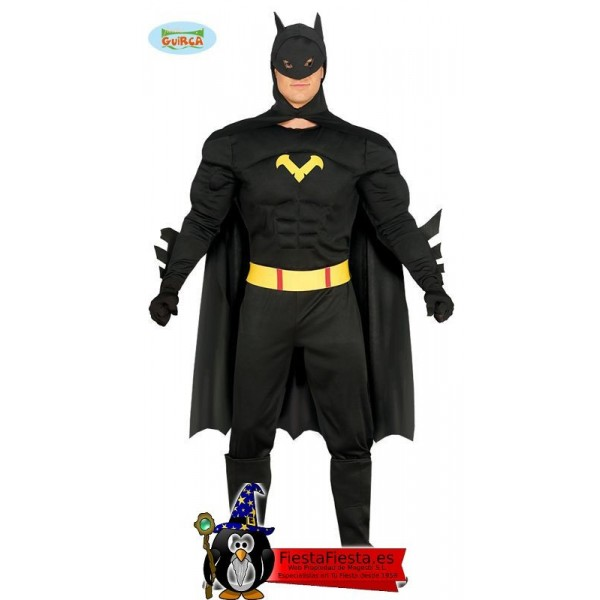 Disfraz Black Hero Batman Adulto