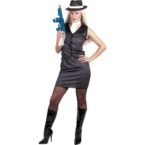 Disfraz de Gangster Chica