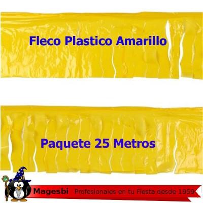 'Fleco Plastico Amarillo 25m.'