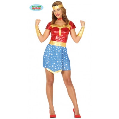 Disfraz Super Wonder Girl Talla L