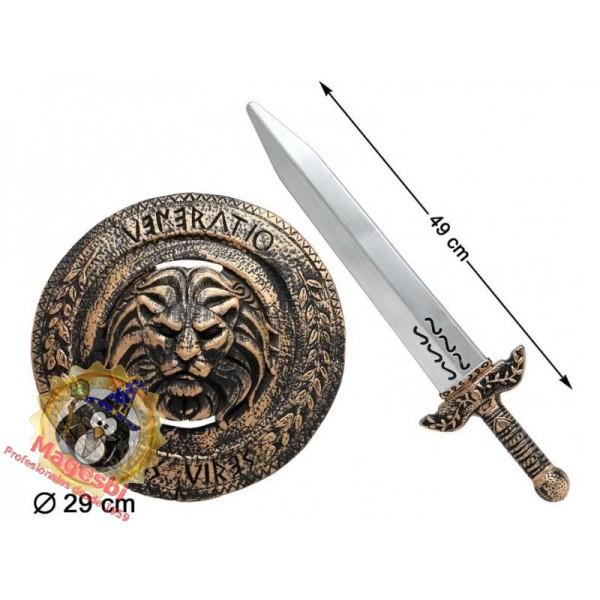 Escudo Espada Guerrero