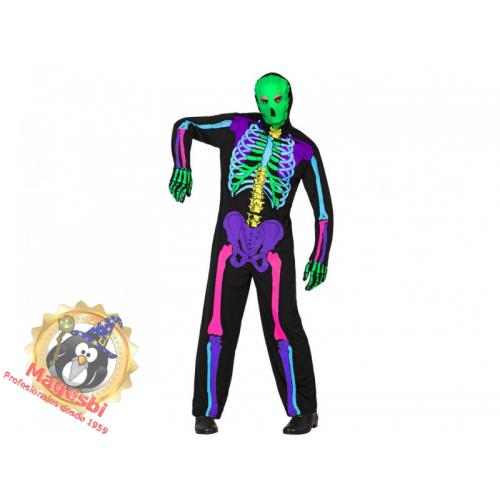 Disfraz Esqueleto Fluor