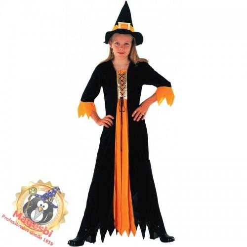 Disfraz Bruja Naranja
