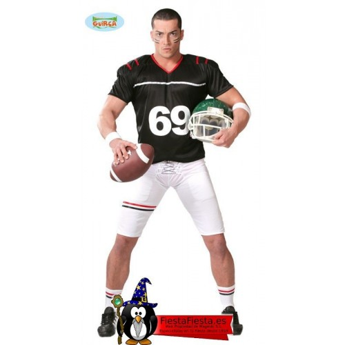 Disfraz Jugador Rugby Quarterback Adulto