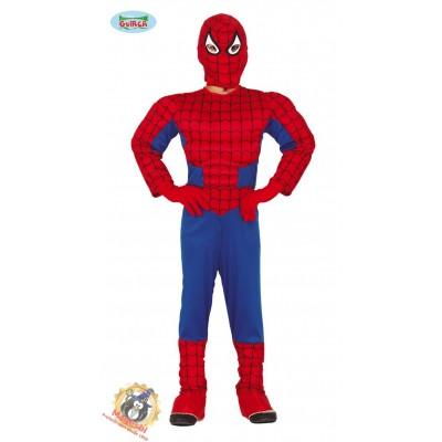 Disfraz Spiderman Musculoso Niño