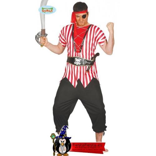 Disfraz Pirata Rayas Veraniego