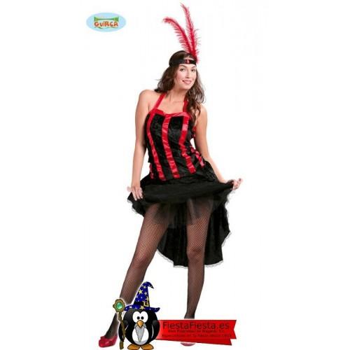Disfraz Cabaret Chica cabaretera