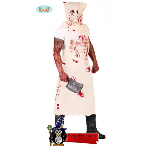 Disfraz de Carnicero Asesino Adulto