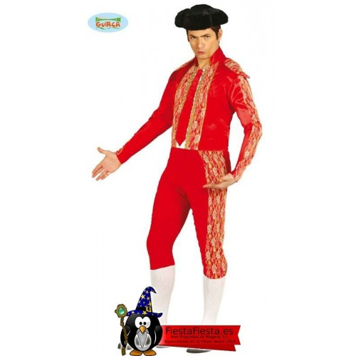 Disfraz Torero Adulto Rojo