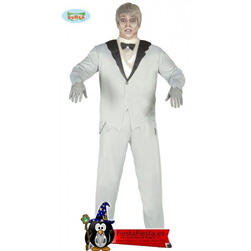 Disfraz Novio Fantasma Cadaver halloween