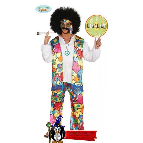 Disfraz Hippie Divertido Adulto