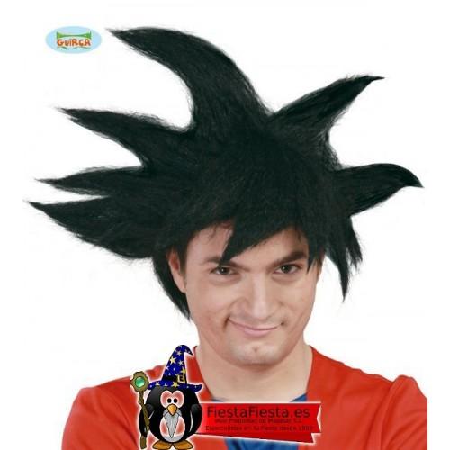 peluca goku dragon ball