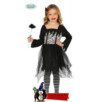 Disfraz de Dama Gotica o Vampiresa