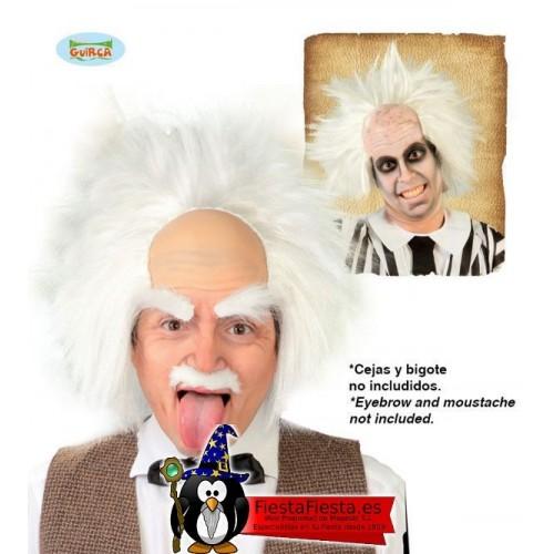 peluca Einstein cientifico