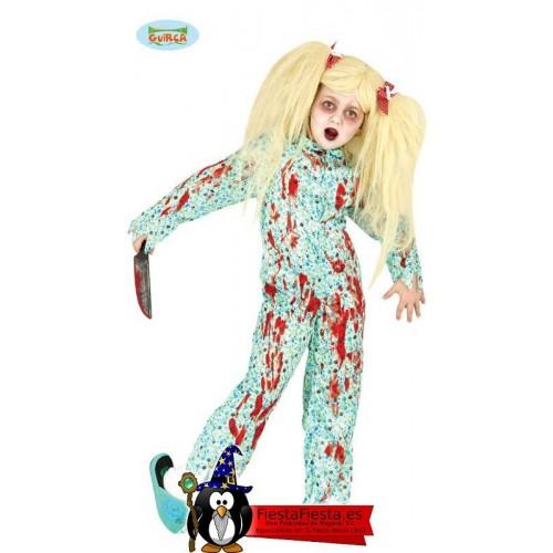 Disfraz niña poseida pijama exorcista