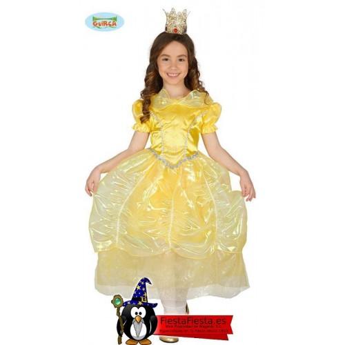 Disfraz Princesa Bella Amarillo