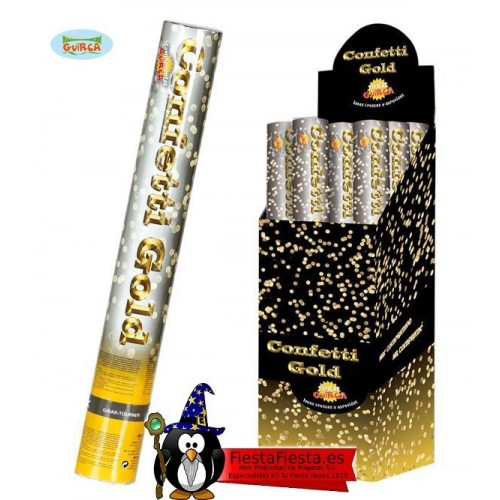 Cañon Confeti Dorado