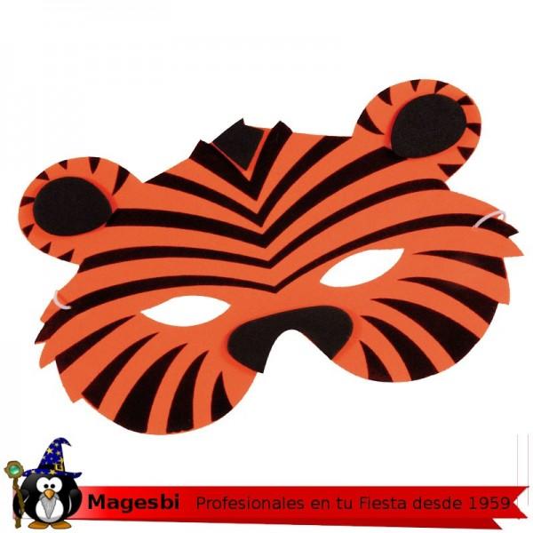 62247693322 Antifaz tigre foam jpg 600x600 Antifaz de tigre