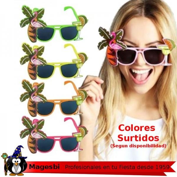 846568ef06 ... Gafas Hawaiana Colores Surtidas. gafas hawaianas
